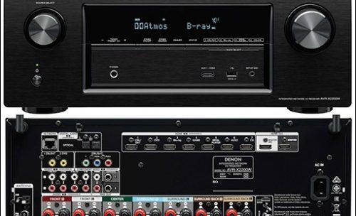 AV ресивер Denon AVR-X2200W, обзор