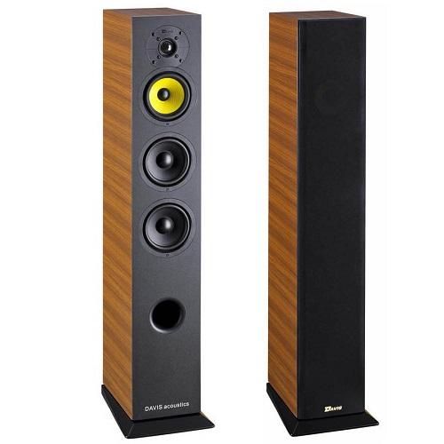 Напольная акустика Davis Acoustics Vinci 3D, обзор